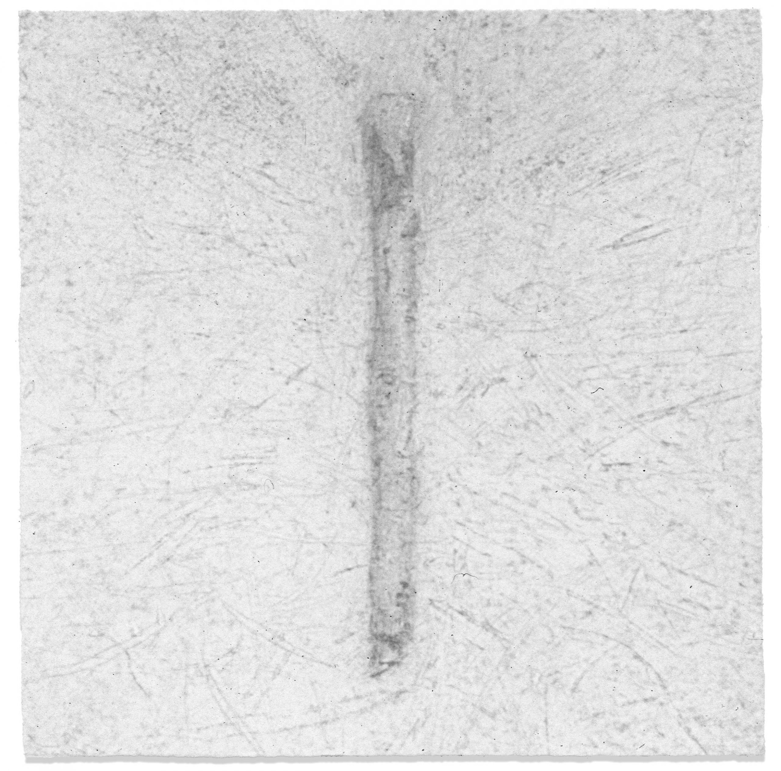 Emanation 1993, graphite on paper, 18 x 18cm