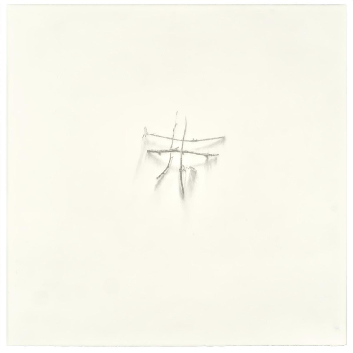 #untitled, 2019, graphite on paper, 55 x 55cm
